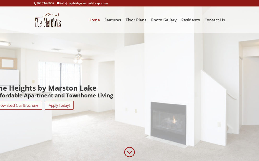 New Heights by Marston Lake Website